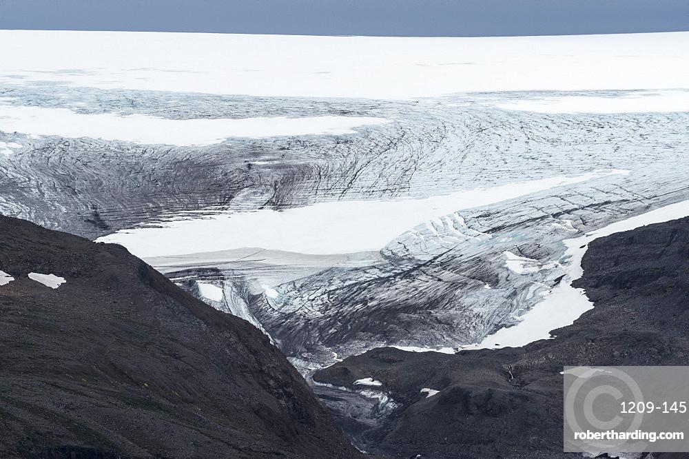 Drangajokull Glacier, Westfjords, Iceland, Polar Regions
