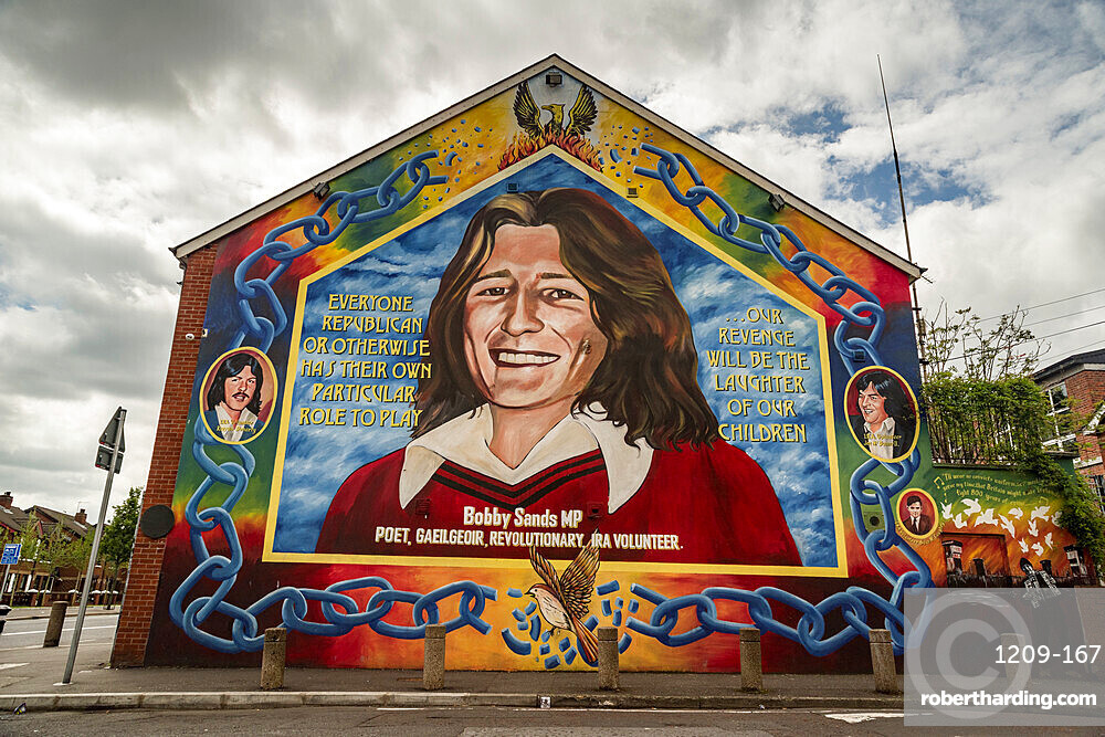 Bobby Sands Nationalist Mural, Belfast