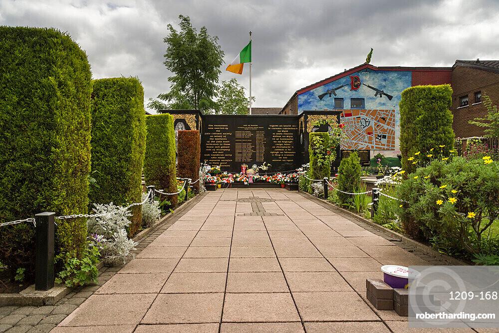 Peace Garden, Falls Road, Belfast