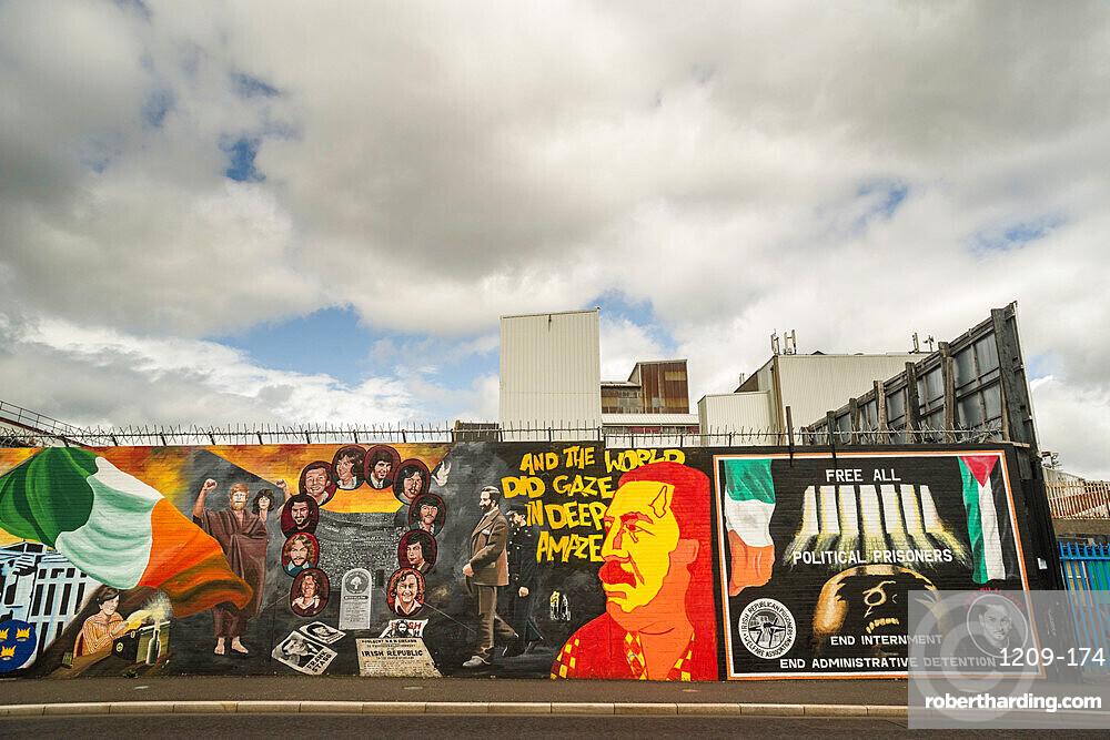 Nationalist mural, Belfast