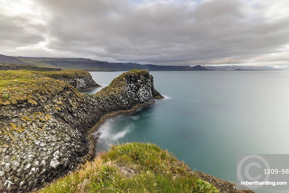 Rock formations, Arnarstapi, Snaefellsnes Peninsula, Iceland, Polar Regions