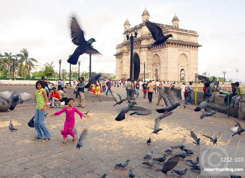 Gateway of India, Mumbai, India, Asia