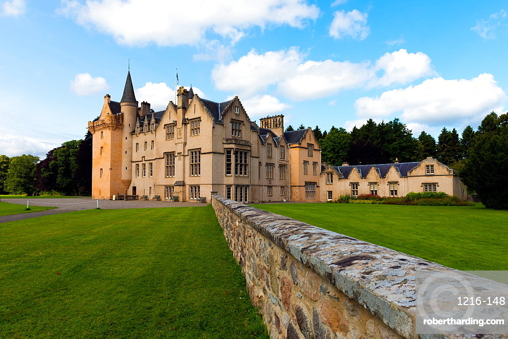 Brodie Castle, Moray, Scotland, United Kingdom, Europe