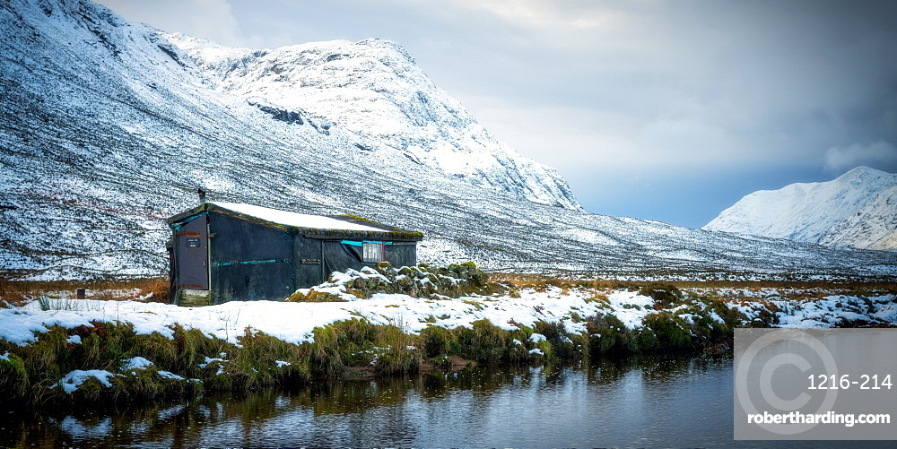 Winter Shack, Glencoe, Scotland