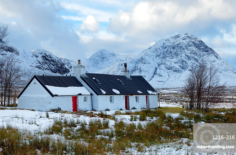 Blackrock Cottage, Glencoe, Highland Region, Scotland, Europe