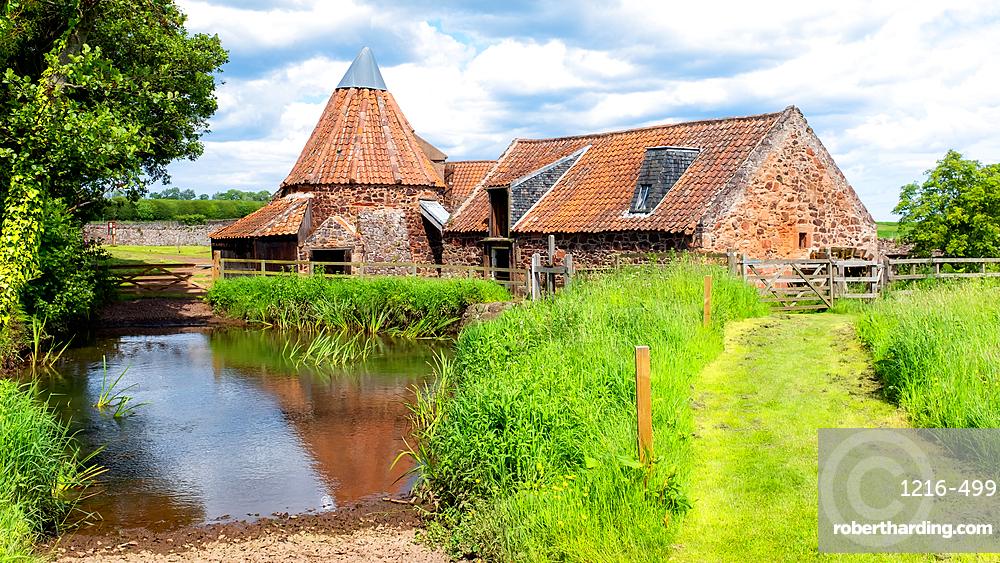 Preston Mill and Phantassie Doocot, as featured in Outlander TV series, East Lothian, Scotland, United Kingdom, Europe