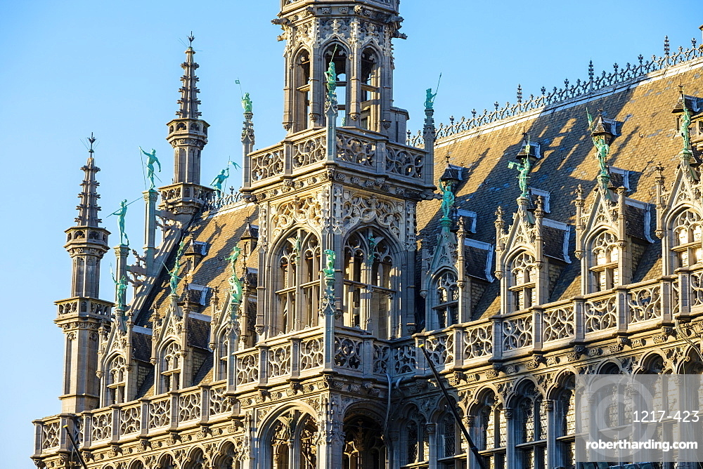 Maison du Roi (King's House) (Broodhuis) on the Grand Place (Grote Markt), UNESCO World Heritage Site, Brussels, Belgium, Europe