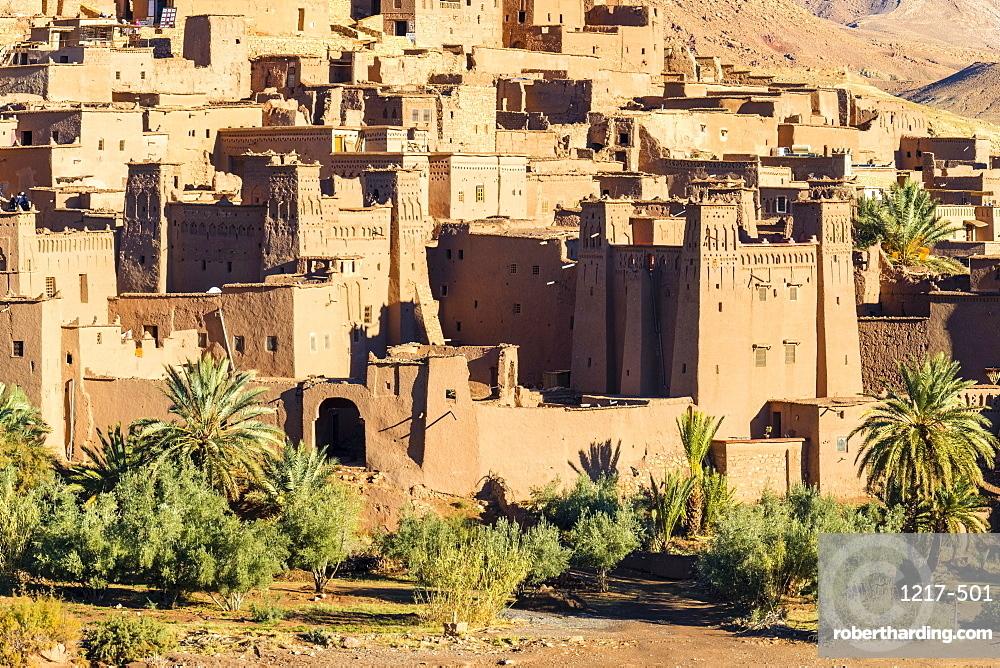 Ksar of Ait Ben Haddou (Ait Benhaddou), UNESCO World Heritage site, Ouarzazate Province, Souss-Massa-Draa, Morocco, North Africa, Africa