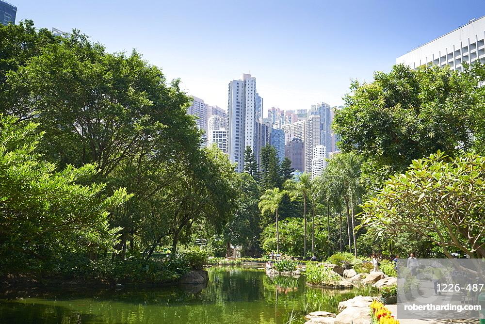 Hong Kong Park in Central, Hong Kong Island, Hong Kong, China, Asia