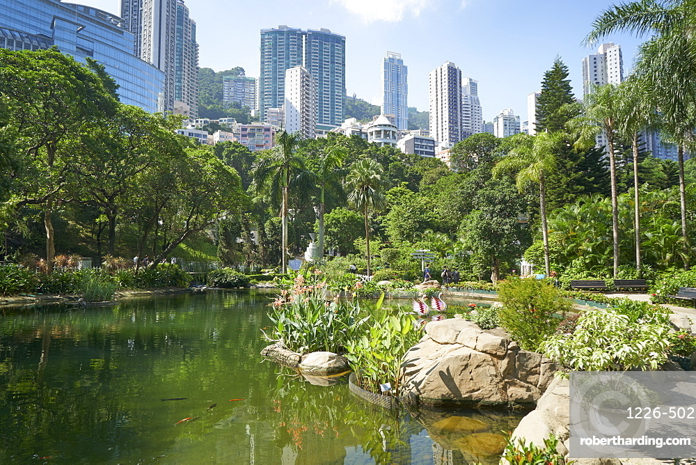 Hong Kong Park in Central, Hong Kong Island, Hong Kong, China, Asia