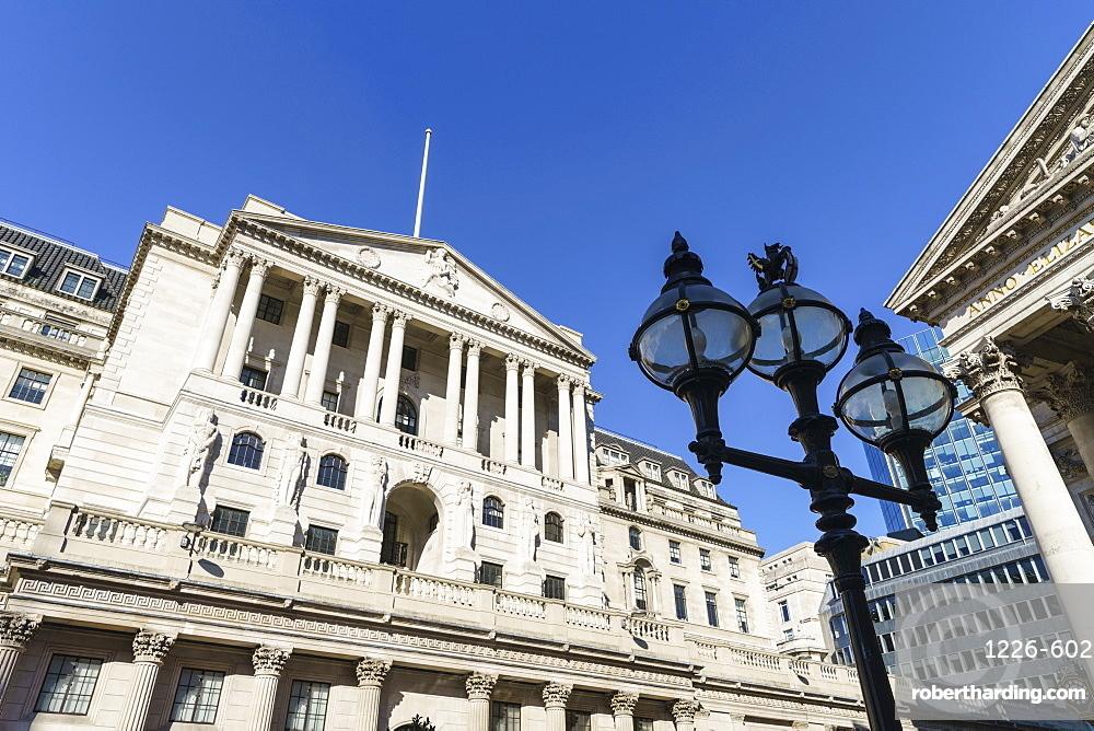 Bank of England, City of London, London, England, United Kingdom, Europe