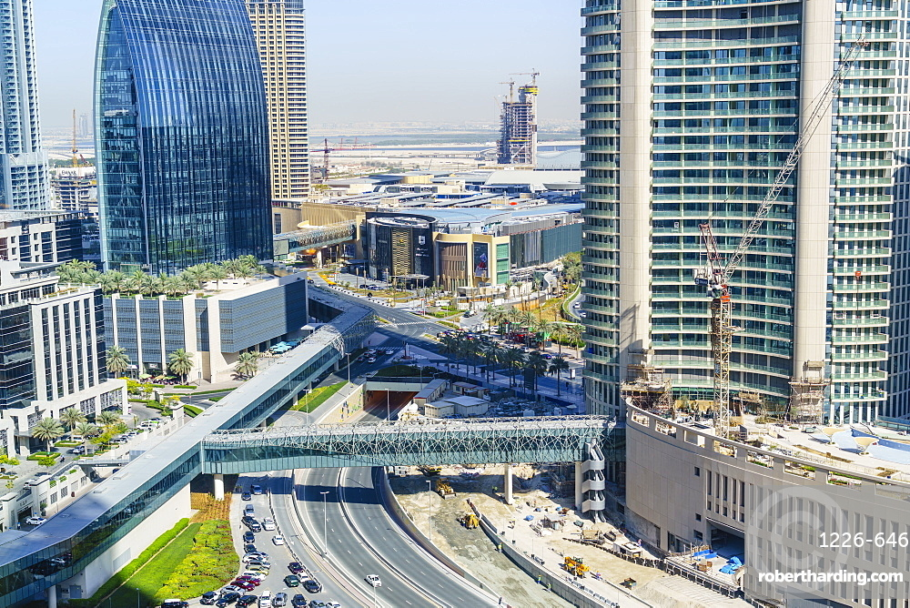 Downtown district, Dubai, United Arab Emirates, Middle East