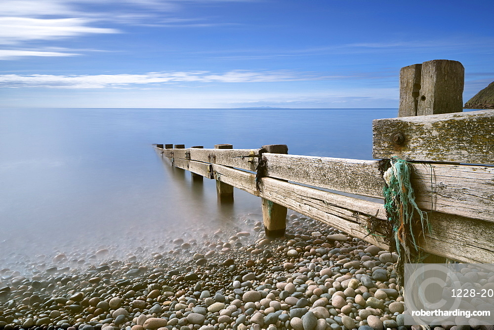 St. Bees beach, Copeland District, Cumbria, England, United Kingdom, Europe