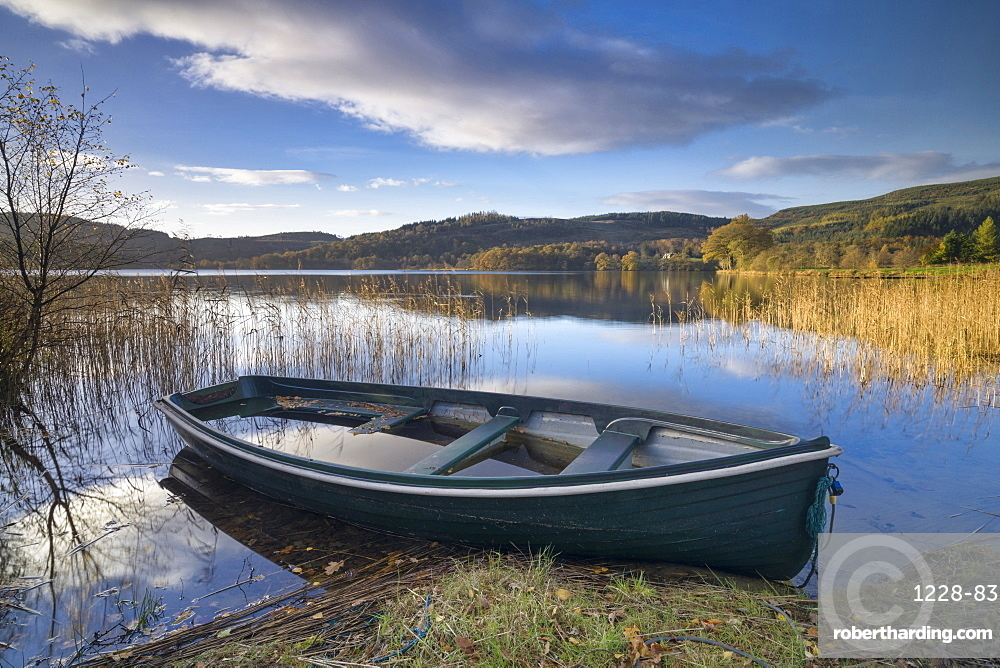Kinlochard, Loch Ard, Aberfoyle, The Trossachs, Scotland, United Kingdom, Europe