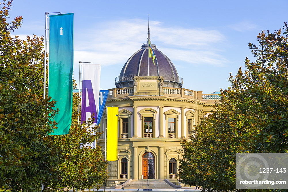 Ariana Museum, Geneva, Switzerland, Europe