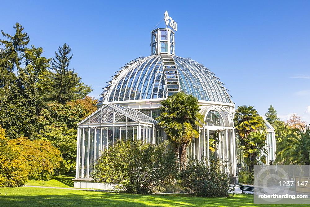 The Conservatory and Botanical Gardens, Geneva, Switzerland, Europe