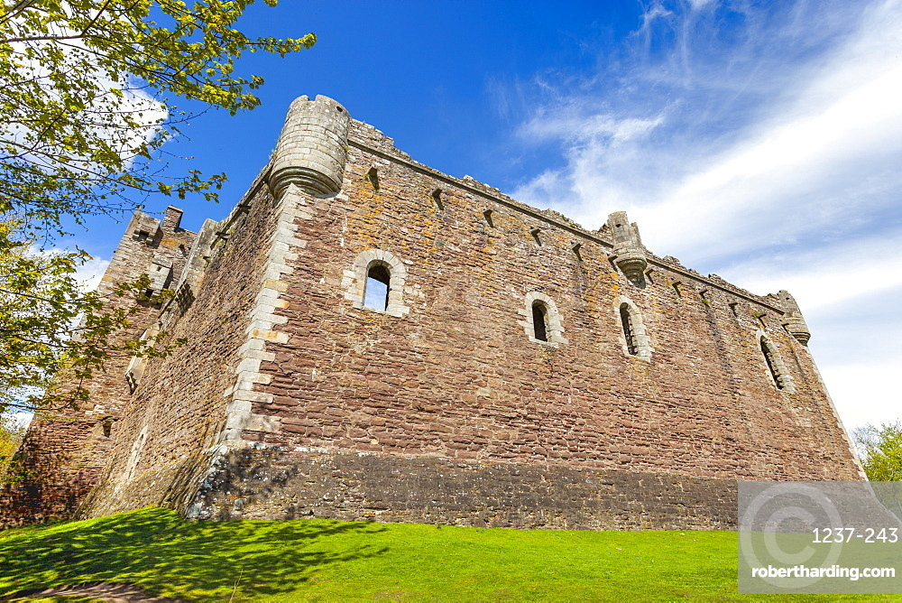 Doune Castle, Stirling district, Scotland, United Kingdom, Europe.