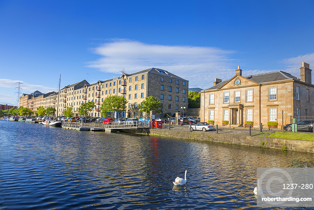 Speirs Wharf, Forth and Clyde Canal, Glasgow, Scotland, United Kingdom, Europe