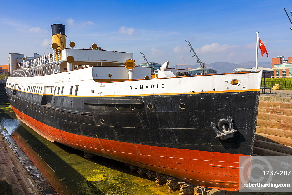 SS Nomadic, Belfast, Ulster, Northern Ireland, United Kingdom, Europe