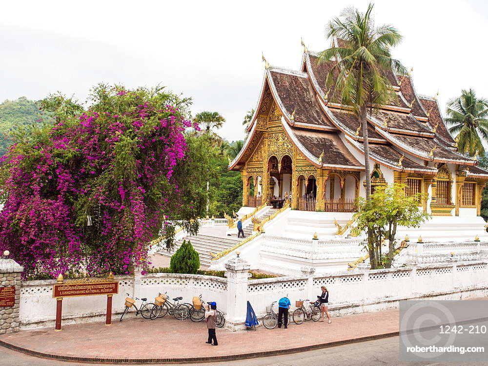 Haw Pha Bang temple, part of the National Museum complex, Luang Prabang, Laos, Indochina, Southeast Asia, Asia