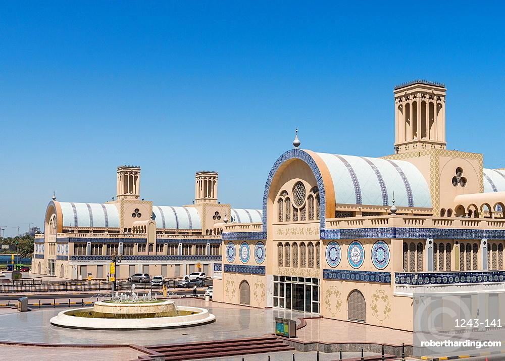 The Souk Central Market, Sharjah, United Arab Emirates, Middle East