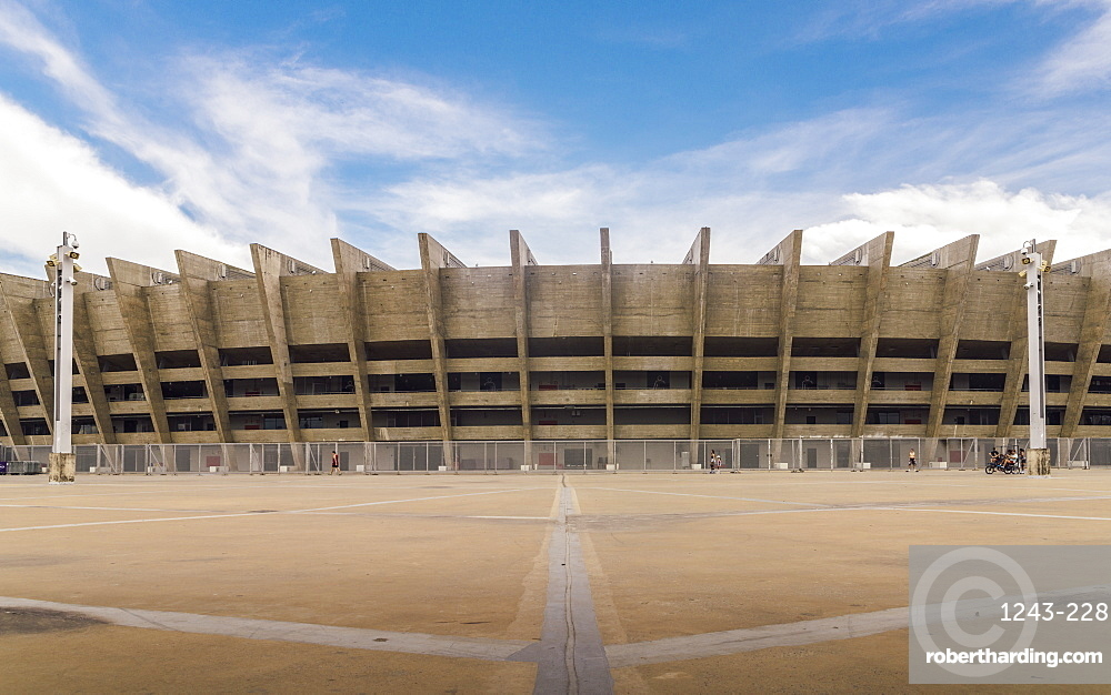 Mineirao is the largest football stadium in the state of Minas Gerais, Brazil