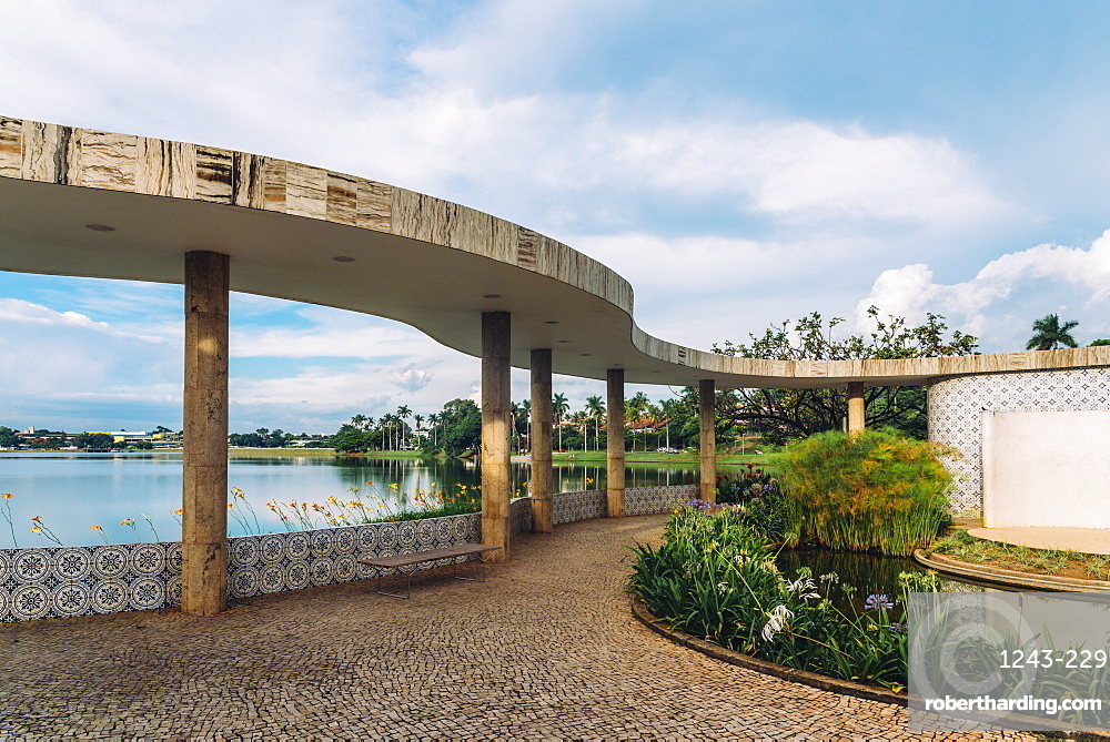 UNESCO World Heritage Site Pampulha Modern Ensemble (ref 1493) Ballroom designed by architect Oscar Niemeyer