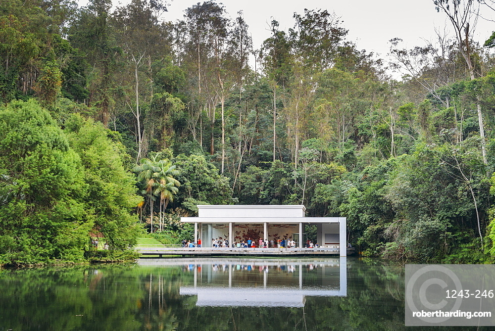 Inhotim Institute, a museum and contemporary art museum as well as a botanic garden located in Brumadhino, Minas Gerais, Brazil, South America