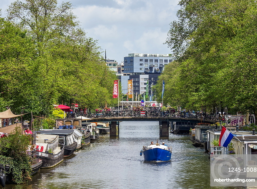 Prinsengracht Canal, Amsterdam, North Holland, The Netherlands