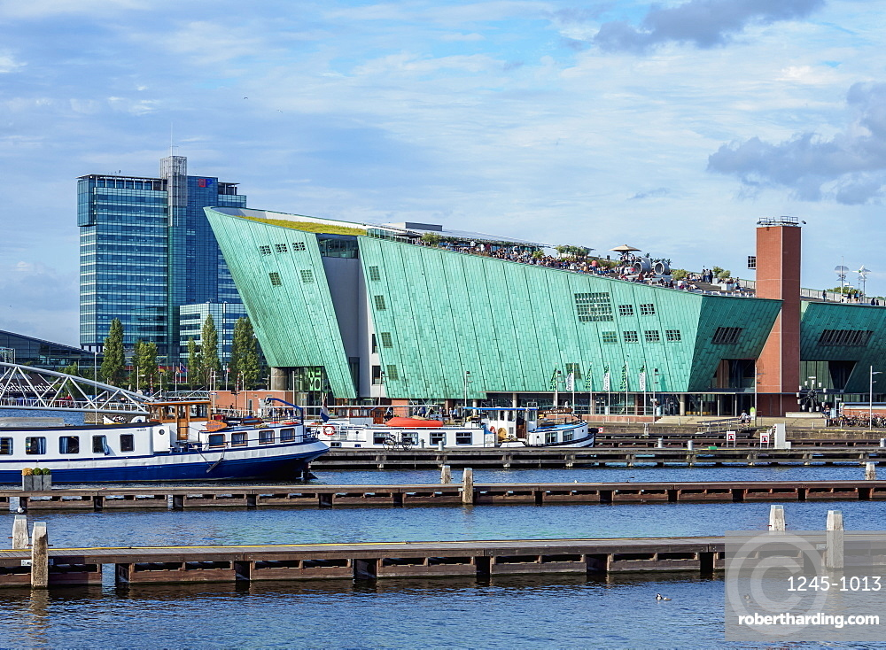 NEMO Science Museum, Amsterdam, North Holland, The Netherlands, Europe