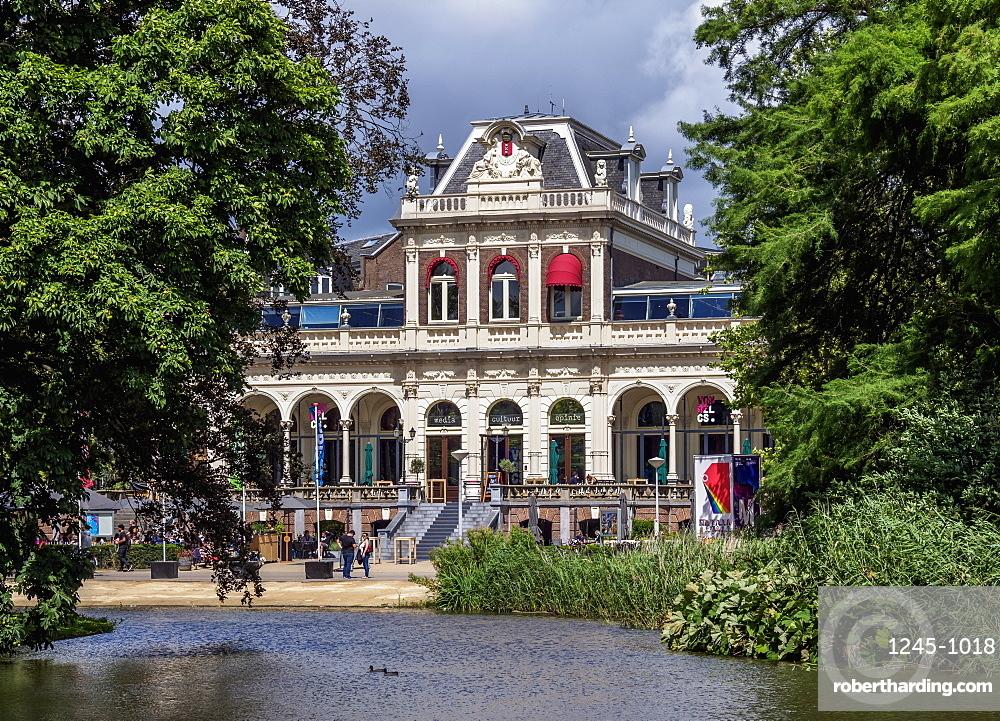 Vondelpark3 Restaurant in Vondelpark, Amsterdam, North Holland, The Netherlands, Europe