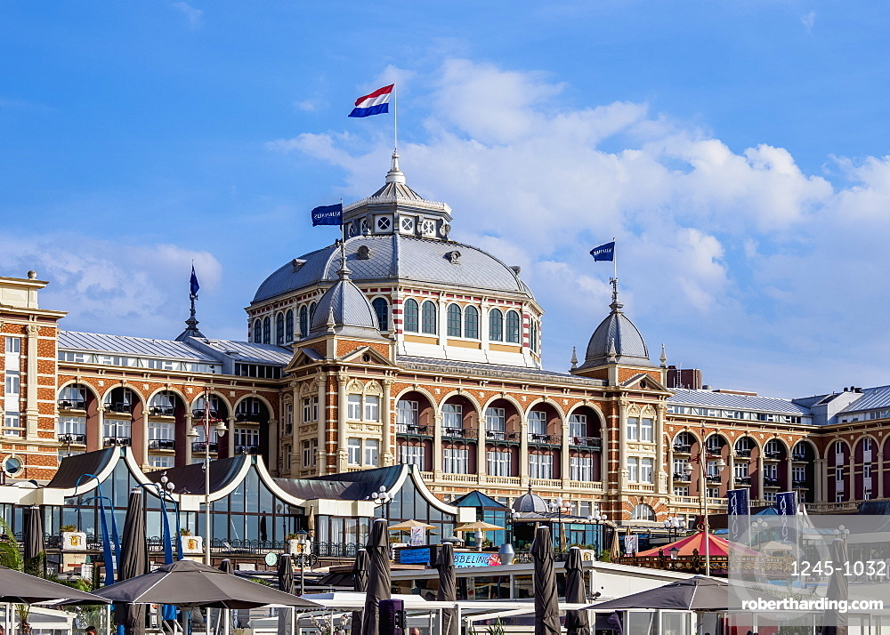 Kurhaus of Scheveningen, The Hague, South Holland, The Netherlands, Europe