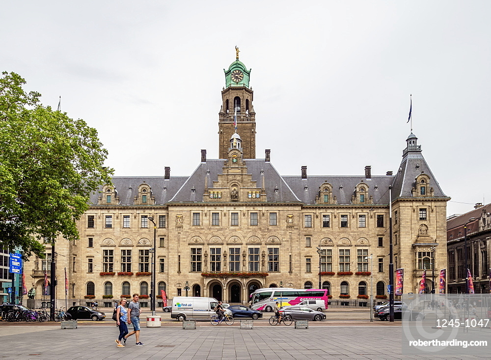 City Hall, Rotterdam, South Holland, The Netherlands, Europe