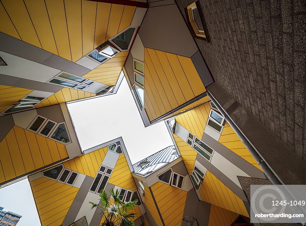 Cube Houses, Rotterdam, South Holland, The Netherlands