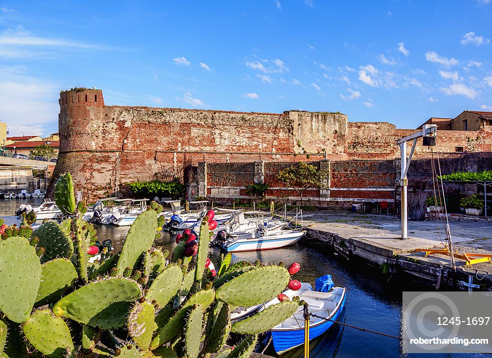 Fortezza Vecchia, Livorno, Tuscany, Italy, Europe