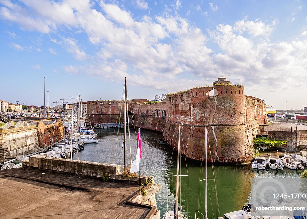 Fortezza Vecchia, Livorno, Tuscany, Italy