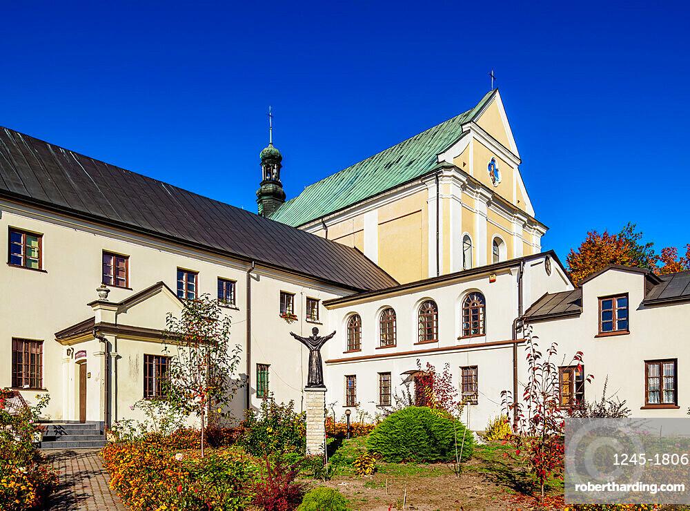 Church and Monastery in Pilica, Krakow-Czestochowa Upland or Polish Jurassic Highland, Silesian Voivodeship, Poland