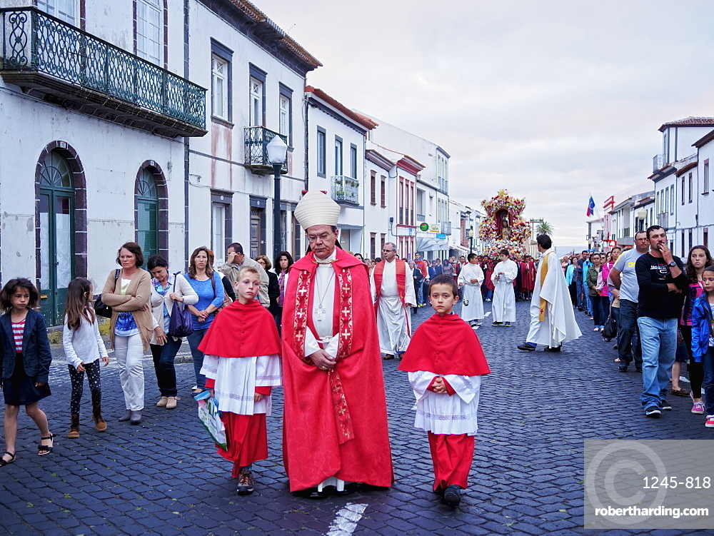 Holy Christ Procession, Vila do Porto, Santa Maria Island, Azores, Portugal