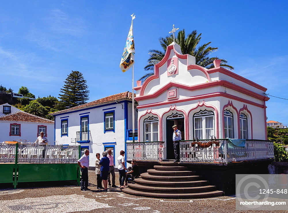 Imperio do Espirito Santo, Vila Nova, Terceira Island, Azores, Portugal, Atlantic, Europe