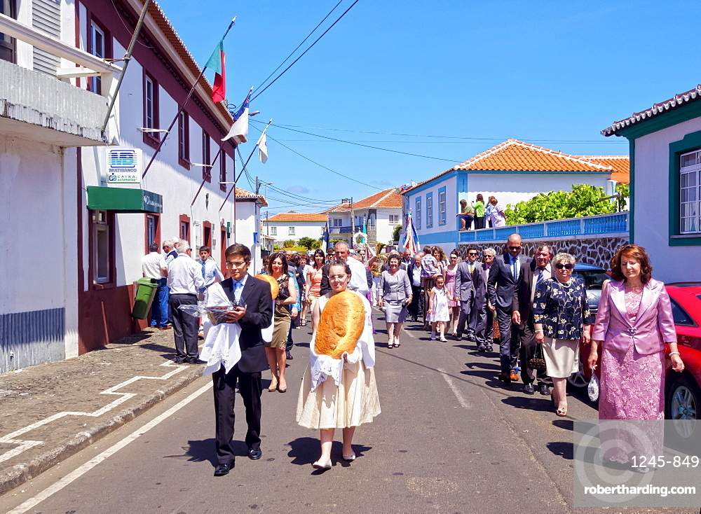 Holy Spirit Festivities, Vila Nova, Terceira Island, Azores, Portugal, Atlantic, Europe