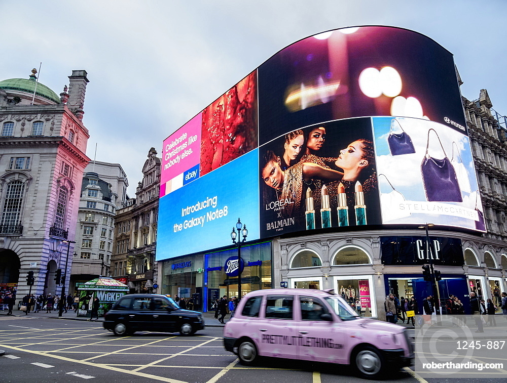 Piccadilly Circus, London, England, United Kingdom, Europe