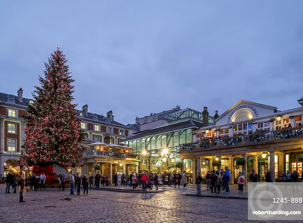 The Market Building, Covent Garden, London, England, United Kingdom, Europe