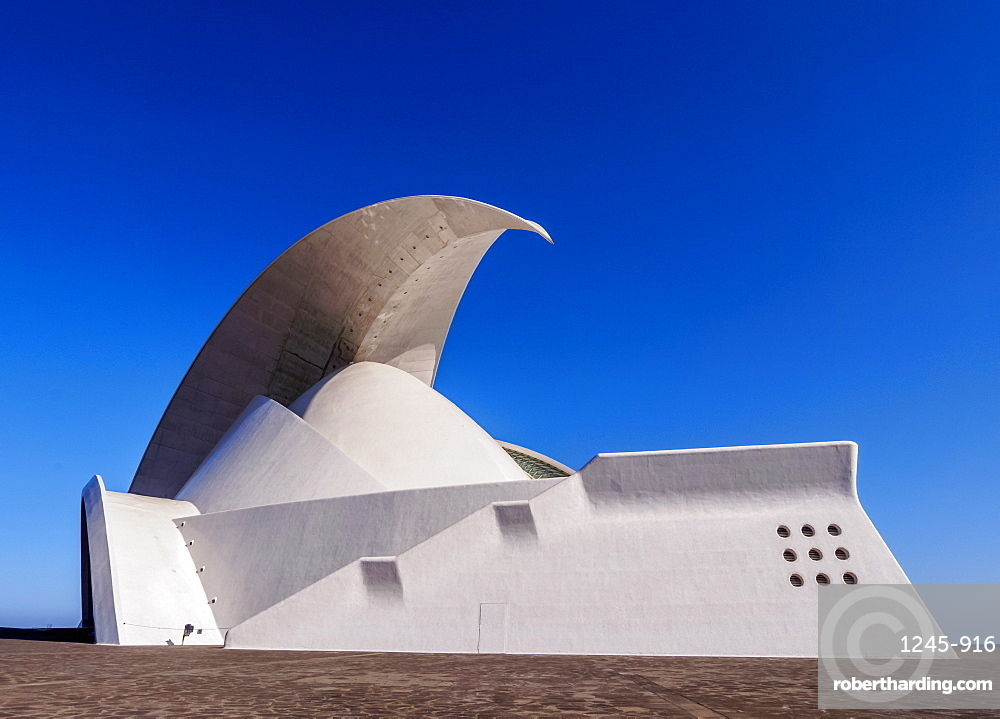 Auditorium Adan Martin, Santa Cruz de Tenerife, Tenerife Island, Canary Islands, Spain, Europe