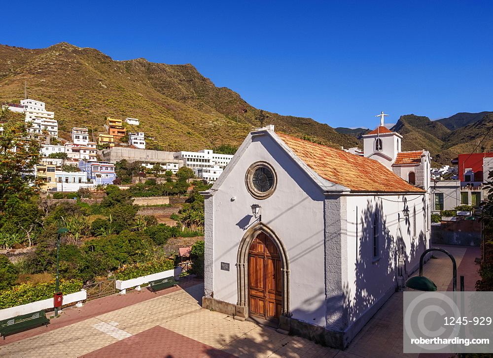 Church of San Pedro, Igueste de San Andres, Tenerife Island, Canary Islands, Spain