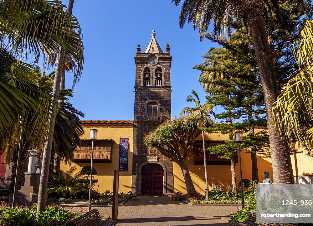 Convent of San Agustin, San Cristobal de La Laguna, Tenerife Island, Canary Islands, Spain