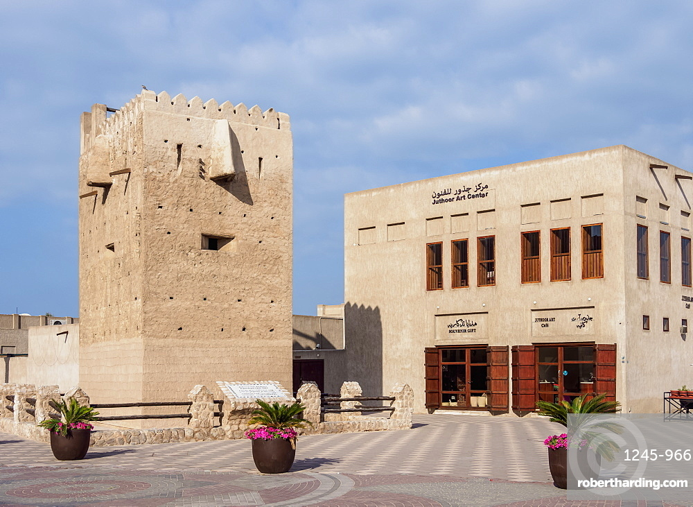 Al Shindagha Heritage Village, Dubai, United Arab Emirates, Middle East