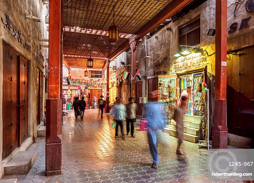 Bur Dubai Old Souk, Dubai, United Arab Emirates