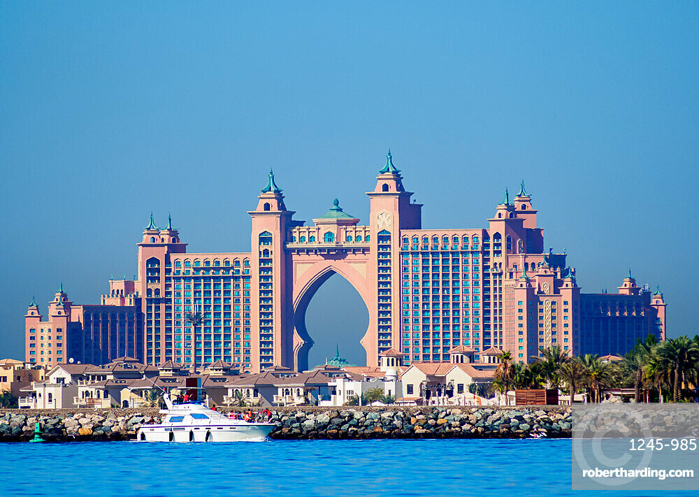 Atlantis The Palm Luxury Hotel, Palm Jumeirah artificial island, Dubai, United Arab Emirates, Middle East