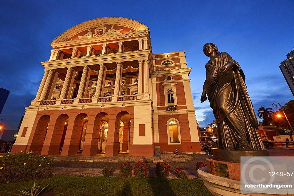 Teatro Amazonas in Manaus, Brazil, South America