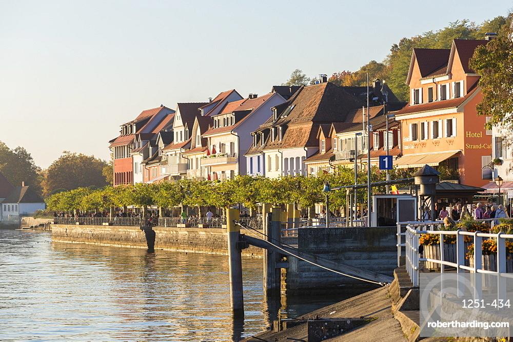 Lower town, Meersburg, Baden-Wurttemberg, Germany, Europe